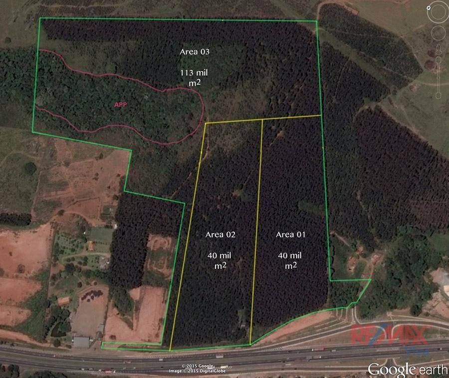área à venda, 193000 m² por r$ 15.440.000,00 - tanque - atibaia/sp - ar0001