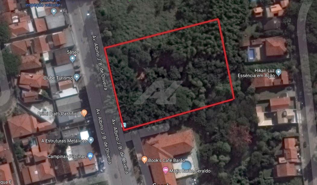 área à venda em barão geraldo - ar004426
