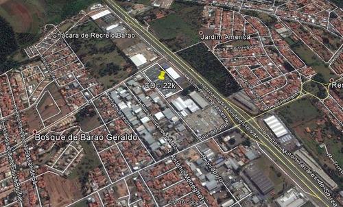 área à venda em chácara de recreio barão - ar007822