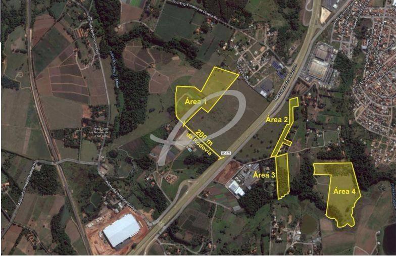 área à venda em parque viracopos - ar002505