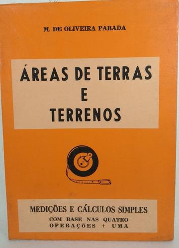 áreas de terras e terrenos parada medições e cálculos