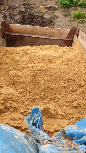 areia, brita, pedra e escória leve