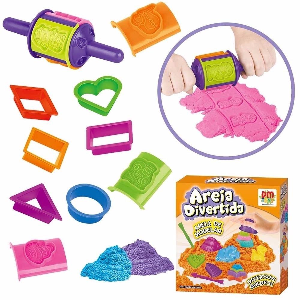 6567cb7dc1 areia divertida para modelar formas dm toys dmt5125. Carregando zoom.