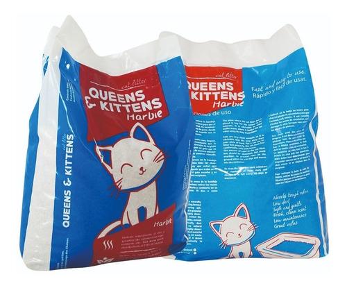 arena aglomerante para gatos x 50kg + catnip de regalo