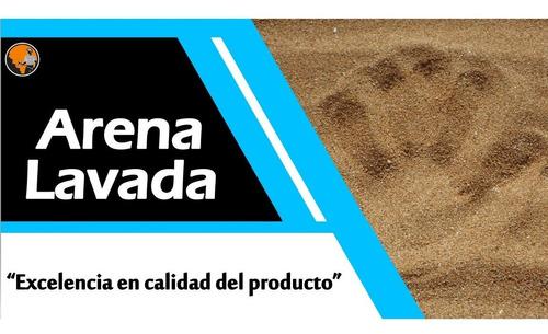 arena cernida, lavada, gravilla y lajas decorativas