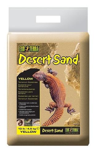 arena de desierto exo terra para reptiles de 4.5 kg