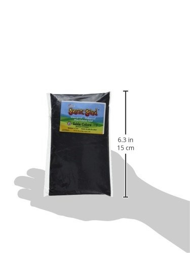 arena escénica activa, 5 libras, negro profundo