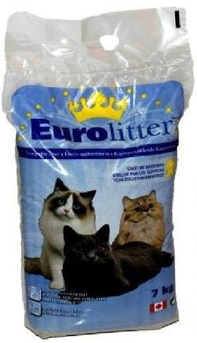 arena gatos  eurolitter 7kg canada aroma a bebe