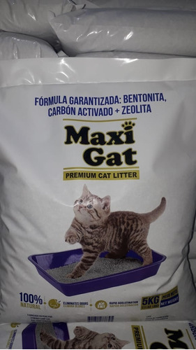 arena gatos sanitaria