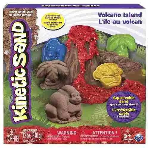arena kinesica para el estres modelo volcan