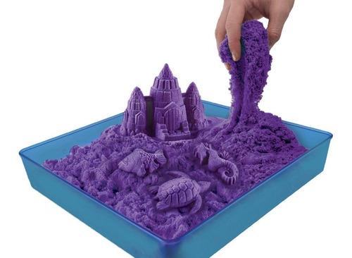 arena kinetica magic sand 450 grs!!! 3 colores de arena
