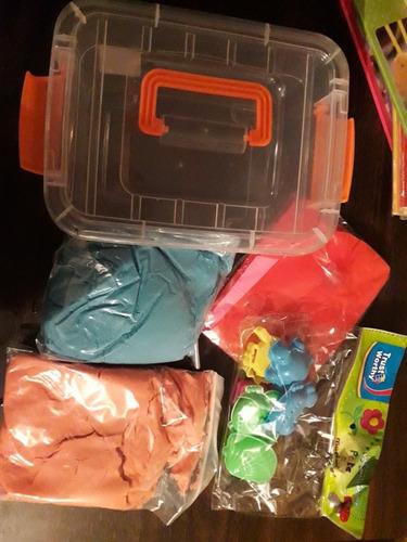 arena mágica 1 kilo + accesorios// elun store
