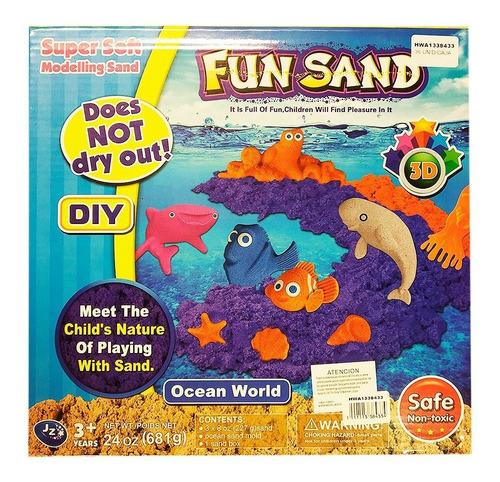 arena magica sand masa diseño peces oceano hwa1338433
