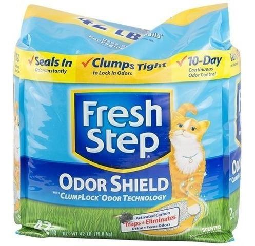 arena para gatos fresh step 42 libras / 21 kilos