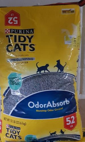 arena para gatos purina