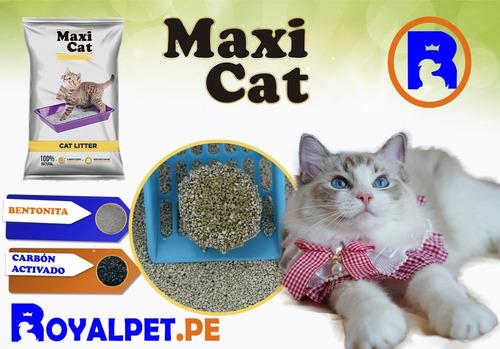 arena para gatos sanitaria 50 kg maxicat cat delivery gratis