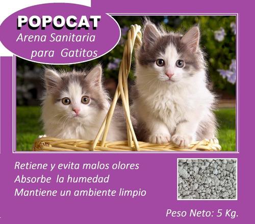 arena para gatos y gatitos!!!!..5kg. x s/.13.00