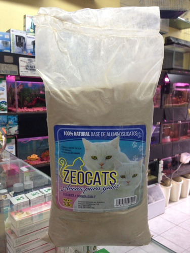 arena para gatos zeocats 4 kg