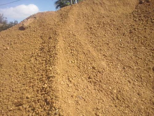 arena - pedregullo -piedra gris - tosca - relleno- nivelado