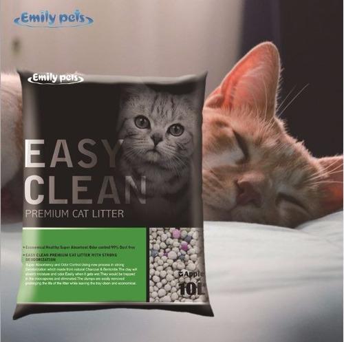 arena sanitaria aglutinante easy clean sacos desde 4 kg