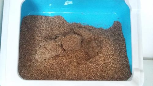 arena sanitaria para gatos a granel