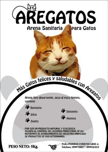 arena sanitaria para gatos aregatos sin duda la mejor arena