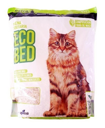 arena sanitarias para gatos 2kg superior a la silica