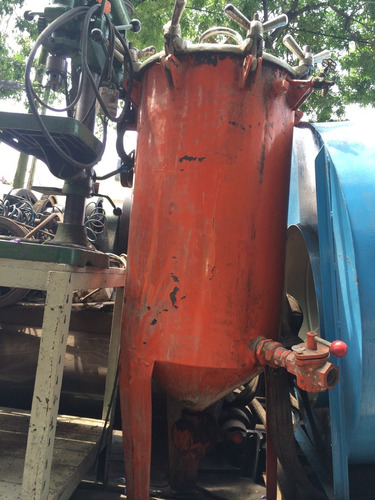 arenadora con tanque y bombas rulla accesorios y cañeríascañ