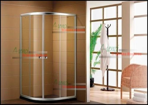 arenci-ducha baño cancel sin base 1x1 m. regadera super nova