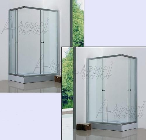 arenci-ducha baño regadera cancel baño 100x80 mod. minerva