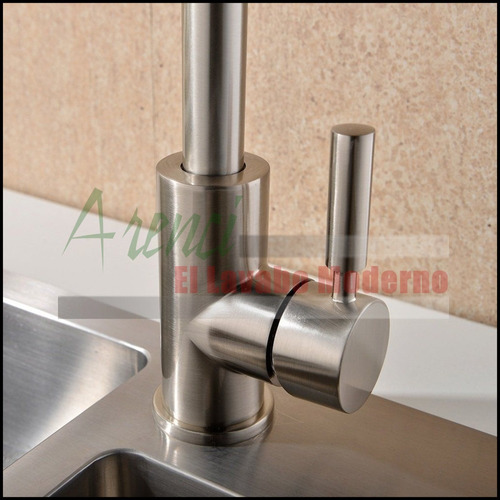 arenci-llave cocina fregadero acero inox 304 mod. garza ai