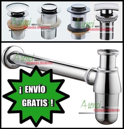 arenci-ovalín céspol  desagüe push up lavabo ¡ envío gratis!