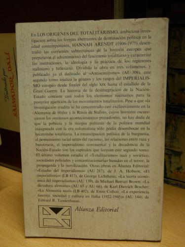 arendt - los orígenes del totalitarismo. vol. 2: imperia...