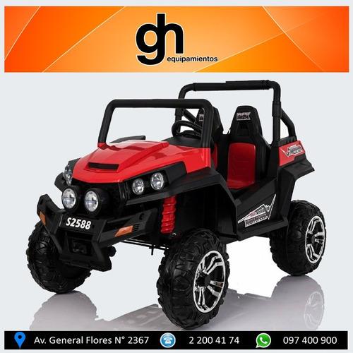 arenero buggy  jeep a bateria  para 2 niños gh.equipamientos