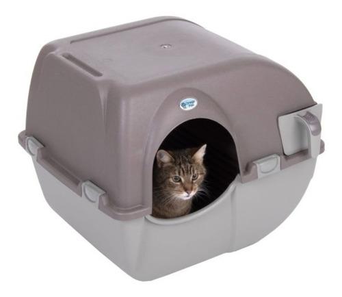 arenero gato  auto-limpiable tamaño grande omega paw