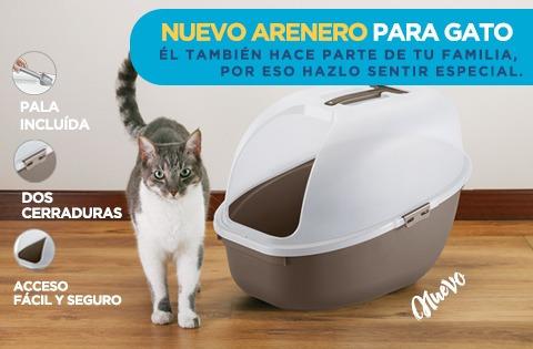 arenero grande gato + pala + envio lima metropolitana