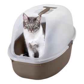Arenero Para Gatos Color Marrón - Incluye Pala Gratis