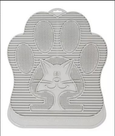 arenero regular omega paw + tapete + rascador + cama gato