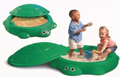 arenero tortuga niños rotoys c/tapa apto pileta o pelotero