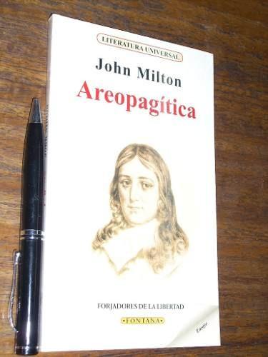 areopagítica john milton ediciones brontes estado - nuevo