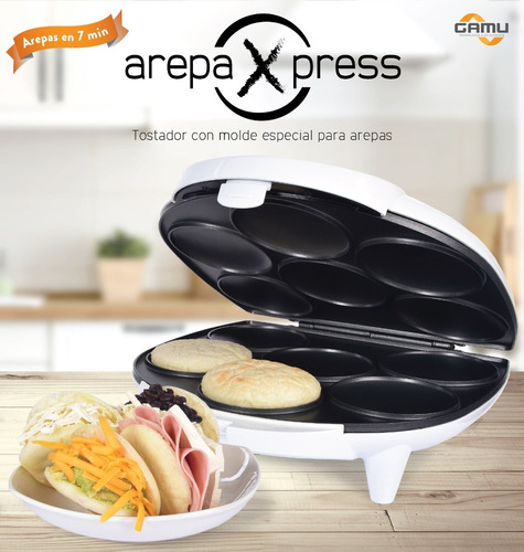 arepaxpress tostador molde  arepa 220v enchufe chile - gamu