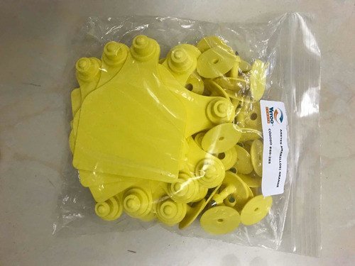 arete grande amarillo 3 7/8h x 15/16w