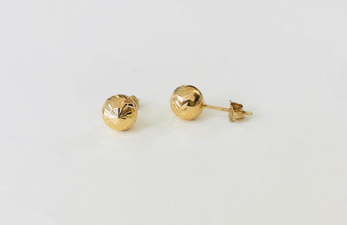 43625041b9bc aretes 14k oro amarillo regalo dama niña detalle joyeria. Cargando zoom.