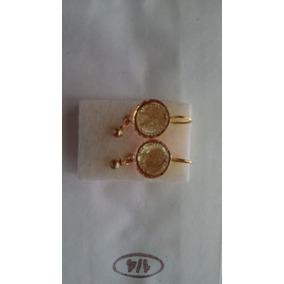 6acafe67d102 Monedas Oro 21k - Aretes Sin piedra en Mercado Libre México