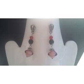 540932934952 Collar De Piedras Rojas Con Murano - Aretes en Mercado Libre México