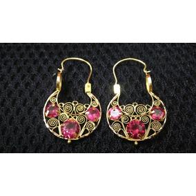 4900b1a69c65 Aretes De Bautizo Oro Rubies Perla - Aretes en Mercado Libre México
