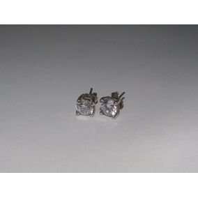 44e1f6ed0942 Aretes Sencillos Con Cristal   en Mercado Libre México