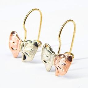 5fac8ef0a1db Arracadas Labradas Oro 10 Kilates - Aretes Oro en Mercado Libre México