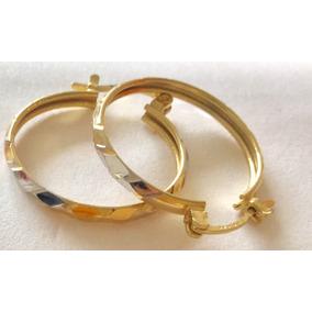 8aba4e95c377 Arracadas Oro 14k Tres Oros - Joyas y Relojes en Mercado Libre México