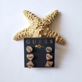 dfa4954a227d Guess G85413g - Aretes Acero quirúrgico Con piedra en Mercado Libre ...